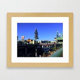 Lansdowne Street Framed Art Print