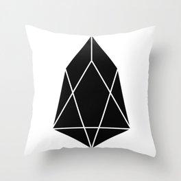 EOS Logo Throw Pillow
