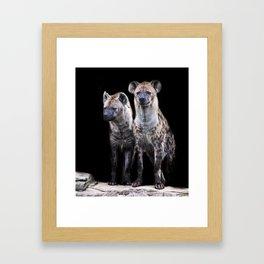 Hyenas Framed Art Print