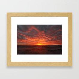 Morning Red  Framed Art Print