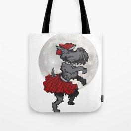 Scotty Dog Tote Bag