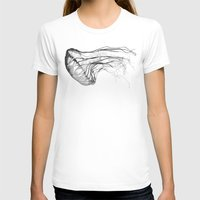 x files T-shirts featuring Medusozoa by Edward Blake Edwards