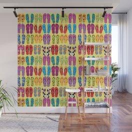 Flip Flop Pop Wall Mural