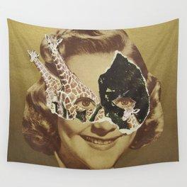 Golden Girl Wall Tapestry