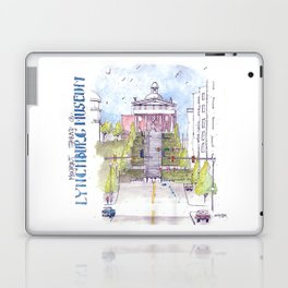 Monument Terrace at the Lynchburg Museum Laptop & iPad Skin