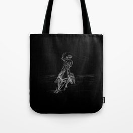 Cowboy Roping Tote Bag