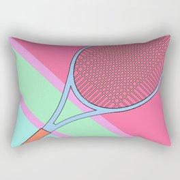 Tenis Racket Rectangular Pillow