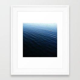 Champlain Chop Framed Art Print