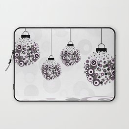 Modern Christmas balls CB Laptop Sleeve