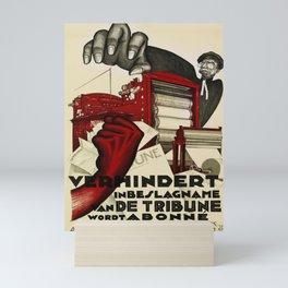 retro prevent seizure of the tribune become a subscriber. 1932 Mini Art Print