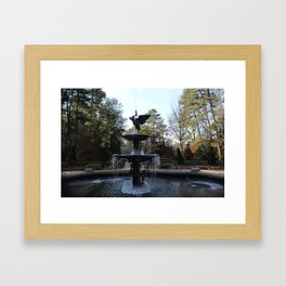 Wrapped in Winter Framed Art Print
