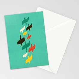 Birds are flying Stationery Cards