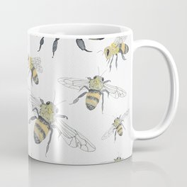 Bees - cute insects Coffee Mug