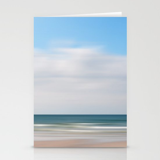 beach impression Stationery Cards
