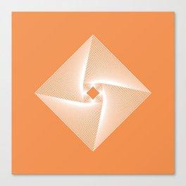 Square Pyramid Canvas Print