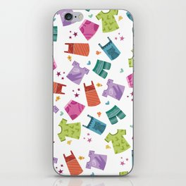 HER CLOTHES iPhone Skin