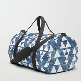 STACKED NAVY Duffle Bag