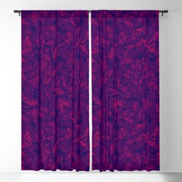 Purple starry dense texture on a blue background. Blackout Curtain