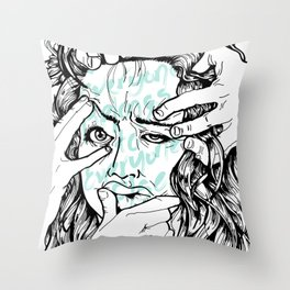 EBTEE Throw Pillow