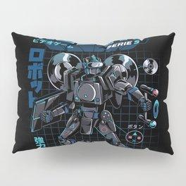 Video Game Robot - Model S Pillow Sham
