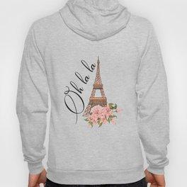 Oh La La Eiffel Tower France Hoody