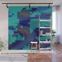 Waves abstract 1 Wall Mural