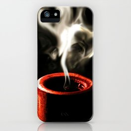 Love is like a flame iPhone Case