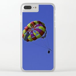 Siesta Key Parasail Clear iPhone Case