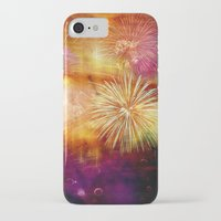 fireworks iPhone & iPod Cases featuring fireworks by haroulita