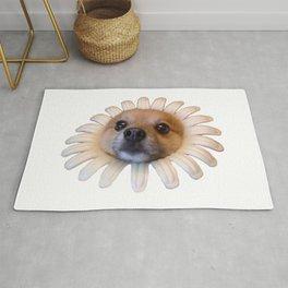 Flower Doggo Rug