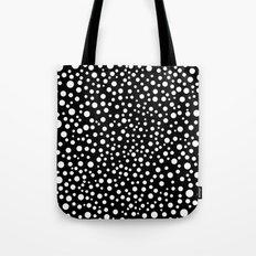 Polka Lunar Tote Bag