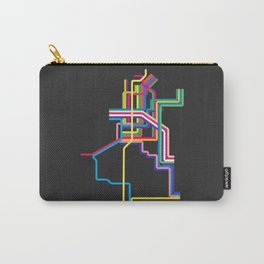 kolkata metro map Carry-All Pouch