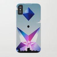 neon genesis evangelion iPhone & iPod Cases featuring Neon Genesis Evangelion - Angel 05: Ramiel by MNM Studios