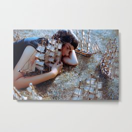 listless gods Metal Print