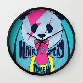hair spray queen Wall Clock