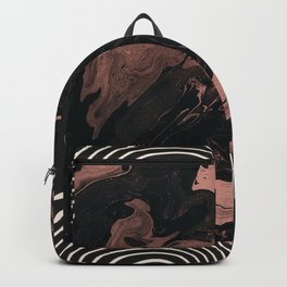 Suminagashi // 002 — Rose Gold Daydreams Backpack