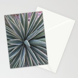 Stripes and Spikes Stationery Cards