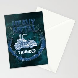 Heavy Metal Thunder Stationery Cards