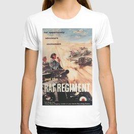 Vintage poster - Royal Air Force T-shirt