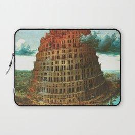 "Pieter Bruegel (also Brueghel or Breughel) the Elder ""The Tower of Babel (Rotterdam)"" Laptop Sleeve"