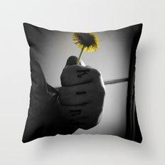 Kind Flower Throw Pillow