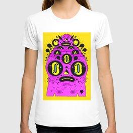 triangle nose T-shirt