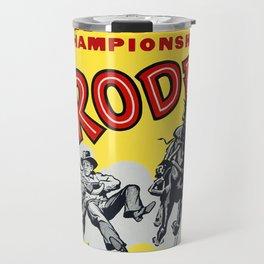 Lawrence Championship Rodeo Travel Mug