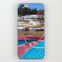 backpack iPhone & iPod Skins featuring Backpack 1 by Heath Pierson