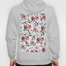 flowers pattern 3a Hoody