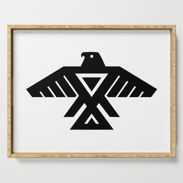 Native American Thunderbird Flag Serving Tray