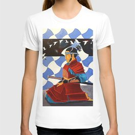 SAMURAI MEDITATION T-shirt