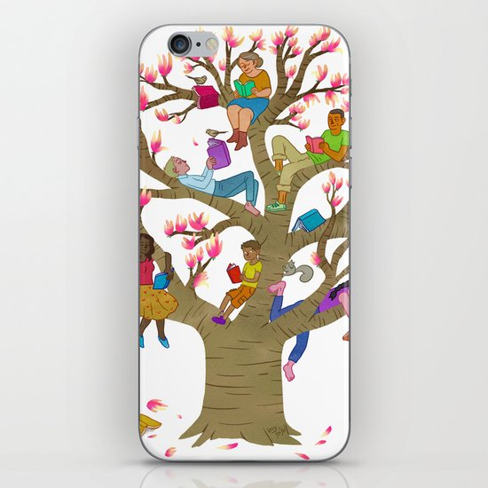Tree Readers iPhone & iPod Skin