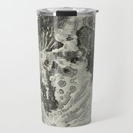 Vintage Moon Map Travel Mug