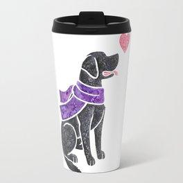 Watercolour Labrador Retriever Travel Mug